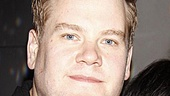 One Man star James Corden and one of his Two Guvnors, Jemima Rooper, are delighted to celebrate their very first Broadway preview.