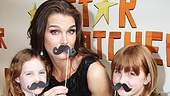 Brooke Shields and daughters Rowan and Grier show off their pretty pouts for the camera.