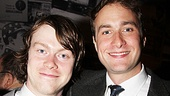 One Man, Two Guvnors opening night  Daniel Rigby  Oliver Chris 