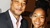 Clybourne Park Opening Night  Damon Gupton  Crystal A. Dickinson 