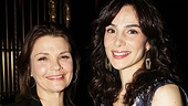 It's a Law & Order lovefest for co-stars Kathryn Erbe and Annie Parisse.