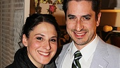 Streetcar's Matthew Saldivar is all smiles in an opening night photo with his lovely girlfriend Sarna Lapine …