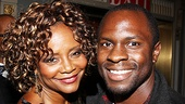 A Streetcar Named Desire opening night  Tonya Pinkins - Gbenga Akinnagbe