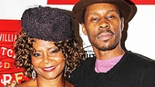 Who better to welcome Wood Harris to Broadway than Tony winner Tonya Pinkins, co-star of his very first film Above the Rim?