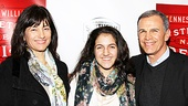 A Streetcar Named Desire opening night  Tony Plana and family 