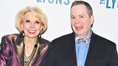 Funny actors Julie Halston and Peter Bartlett are eager to see Broadway's newest comedy, The Lyons.
