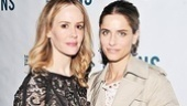 Lyons Opening- Sarah Paulson  Amanda Peet
