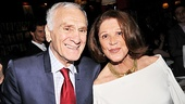 The Lyons stars Dick Latessa and Linda Lavin enjoy their celebration.