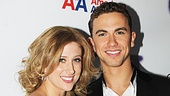Ghost Opening Night -  Caissie Levy  Richard Fleeshman