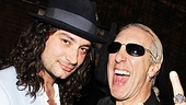Constantine Maroulis and Dee Snider didn't cross paths in Rock of Ages on Broadway, so they're rocking together at Ghost.
