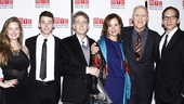 Grace Gummer, Brian J. Smith,  Boyd Gaines, Margaret Colin, John Lithgow and Stephen Kunken are ready to party at the Copacabana!