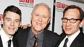 The Columnist's Brian J. Smith, John Lithgow and Stephen Kunken look dashing in a fellas-only photo.