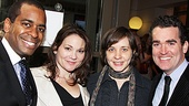 The Columnist Opening Night  Daniel Breaker - Jennifer Prescott - Kate Whoriskey - Brian d&#39;Arcy James