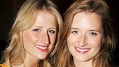 The Columnist Opening Night  Mamie Gummer - Grace Gummer 