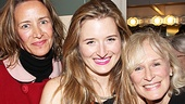 The Columnist Opening Night  Janet McTeer - Grace Gummer  Glenn Close 