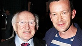 Irish President Visits Once   Michael D. Higgins  Enda Walsh 