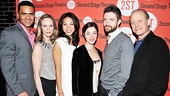 Lonely Im Not opening night  Chris Jackson  Lisa Emery  Maureen Sebastian - Olivia Thirlby - Topher Grace - Mark Blum  