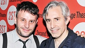 It's a proud night for director Trip Cullman and playwright Paul Weitz, who are back together again after bringing Weitz's Roulette off-Broadway in 2004.