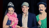 Laura Osnes plays a princess, Kara Lindsay looks suspicious...and we don&#39;t want to know what Jeremy Jordan is doing with that Wicked hat. 