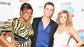 The Ghost trio of Da'Vine Joy Randolph, Richard Fleeshman and Caissie Levy all look stunning at the Broadway.com Audience Choice Awards.