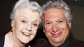 Nominee Angela Lansbury (The Best Man) comes in close with Harvey Fierstein, who wrote the book for the nominated musical Newsies.