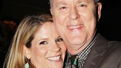 It's a Sweet Smell of Success reunion! Nominee Kelli O'Hara and past Distinguished Performance winner John Lithgow, currently starring on Broadway in The Columnist, share a laugh at the gala.