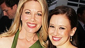Carrie's mother-daughter duo Marin Mazzie and Molly Ranson (a Drama Desk nominee for Outstanding Actress) look gorgeous onstage and off.