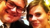 2012 Tony Awards Instagram Snapshots - Celia Keenan-Bolger  John Ellison Conlee