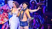 Miriam Shor and Kyle Dean Massey go note for note at Broadway Bares XXII.