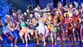 The sexy cast of Broadway Bares XXII joins Kyle Dean Massey and Miriam Shor for the opening number.