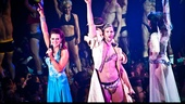Rachel Potter and Kyle Dean Massey excite the crowd at Broadway Bares XXII.