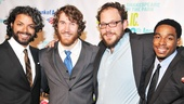 As You Like It Opening Night – Erik Mathew  - Paul Saylor - Brendan Titley - Grantham Coleman