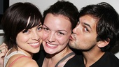 Its no secret Krysta Rodriguez and Wes Taylor love each other, but it looks like they may love Spider-Man alum Jennifer Damiano the most!