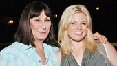 Anjelica Huston looks smash-ing with her TV co-star Megan Hilty.