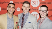 Josh Segarra, Derek Klena and Nick Blaemire look just as tight as their Dogfight characters, Vietnam-bound Marines who call themselves