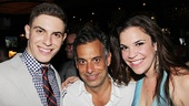 Dogfight Opening Night  Derek Klena  Joe Mantello  Lindsay Mendez