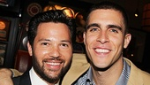 Broadway vet Jason Tam is stoked to support his Lysistrata Jones co-star Josh Segarra on his latest opening night.