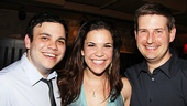 Dogfight Opening Night  Michael Mendez  Lindsay Mendez  Michael Borth