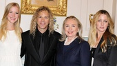 David Bryan Grand Piano to State Department – Gabrielle Bryan – David Bryan – Hillary Clinton - Lexi Bryan