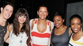 Vanessa Williams Visits Bring It On  Sheldon Tucker  Haley Hannah - Vanessa Williams  Melody Mills  Shonica Gooden 