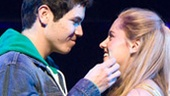 Jason Gotay &amp; Taylor Louderman in Bring It On: The Musical.