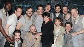 Liza Minnelli and more at Peter and the Starcatcher  Liza Minnelli  the cast of Peter and the Starcatcher 