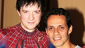 Spider-Man star Matthew James Thomas is thrilled Anthony got the chance to witness his high-flying performance.