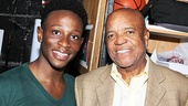 From legend to LaCienega: Bring It On breakout star Gregory Haney gets chummy with music icon Berry Gordy.