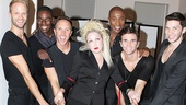Cyndi Lauper's boots are made for walking! (Just ask Kyle Post, Kyle Taylor Parker, Paul Canaan, Kevin Smith Kirwood, Charlie Sutton and Joey Taranto!)