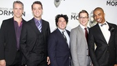 ‘Book of Mormon’ LA Opening—Mike McGowan; Jonathan Cullen; Jon Bass; Jeffrey David Sears; Christian Dante White