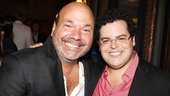 It's a Mormon reunion for co-director Casey Nicholaw and original star Josh Gad.