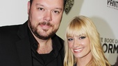 ‘Book of Mormon’ LA Opening—Michael Gladis—Beth Behrs