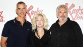 The genius team behind Kinky Boots: Tony winner Jerry Mitchell (direction/choreography), Grammy winner Cyndi Lauper (music and lyrics) and four-time Tony winner Harvey Fierstein (book).