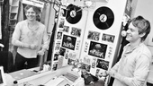 Newsies Backstage-Andrew Keenan-Bolger